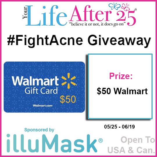 Enter To Win: #FightAcne Giveaway! Be Sure to RSVP for the Twitter Party too! Ends 6/19