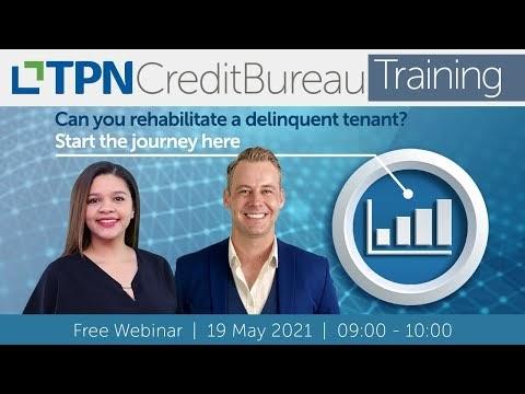 Can you rehabilitate a delinquent tenant? Credit Bureau FAQs