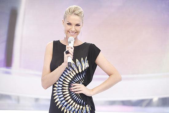 A apresentadora Ana Hickmann