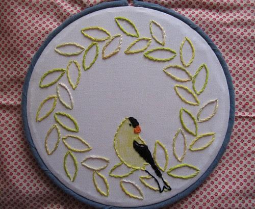 Goldfinch Wreath