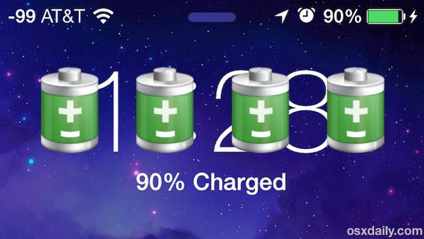 iOS 7 Battery Life
