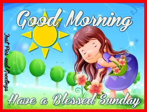 Good Morning Have A Blessed Sunday Quote Pictures Photos And