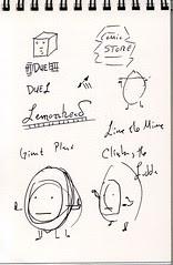 """Lost"" Sketchbook - page 11"