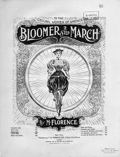 Bloomer Bicycle Sheetmusic