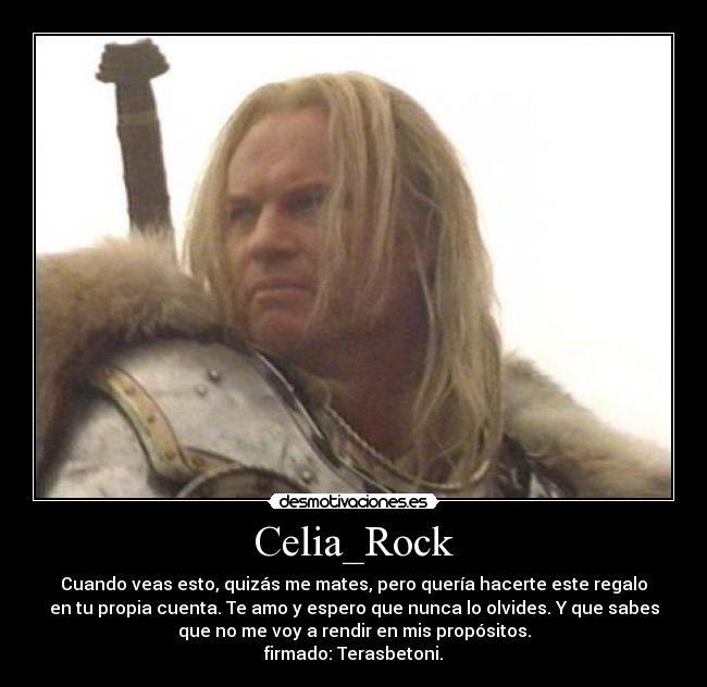 Celiarock Desmotivaciones