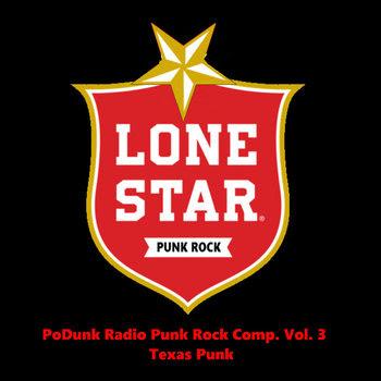 PoDunk Radio Punk Rock Comp. Vol. 3 cover art