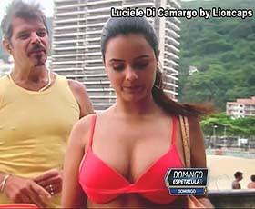 Luciele Di Camargo super sensual na novela Bela a Feia e na TV