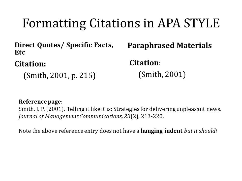 Apa Cite Quote Within A Quote