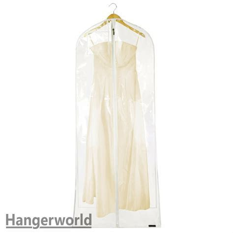 XL Clear Transparent Wedding Dress Cover Prom Ball Gown