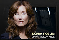Battlestar Galactica - Mary McDonnell as Laura Roslin