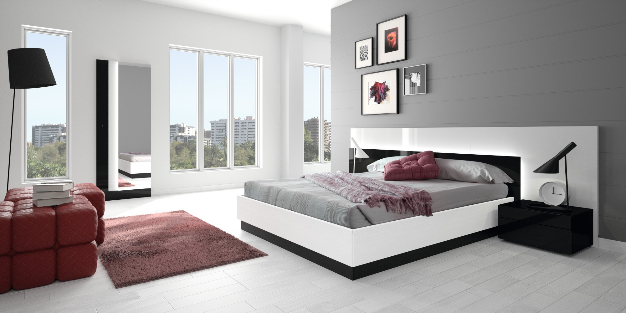Romantic bedroom interior design HD wallpapers | HD ...
