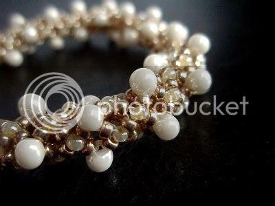 Bridal Champagne Bubbles Bracelet by Ocean Pearl Jewellery