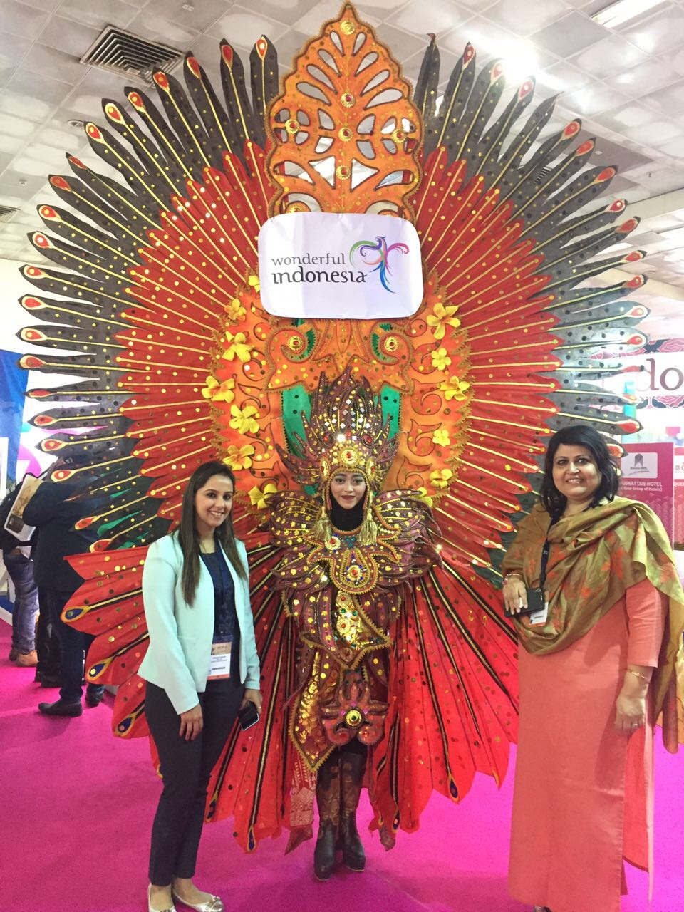 Ministry of Tourism Republic of Indonesia in association with VITO – India had exhibited at