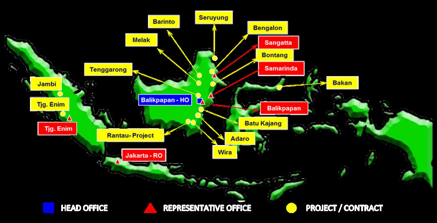 Peta Balikpapan Kalimantan Timur