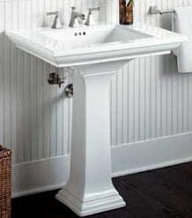How to Install a Pedestal Sink | HomeTips