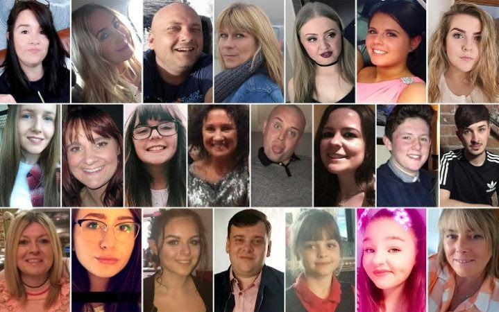 The 22 Manchester victims