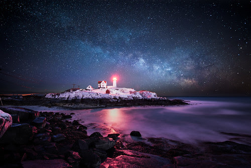 Winter Nubble Light por moe chen