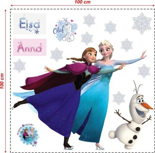 Wandtattoos Wandbilder 100 Cm Frozen Eiskonigin Wandaufkleber Wandtattoo Wandsticker Anna Elsa Olaf Xxl Mobel Wohnen Dslr Zone Com