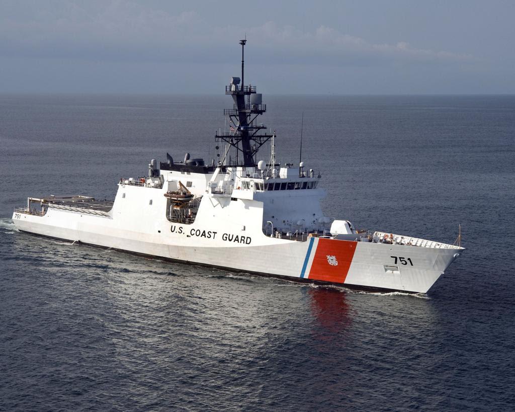 U S Coast Guard National Security Cutter Waesche Wmsl 751