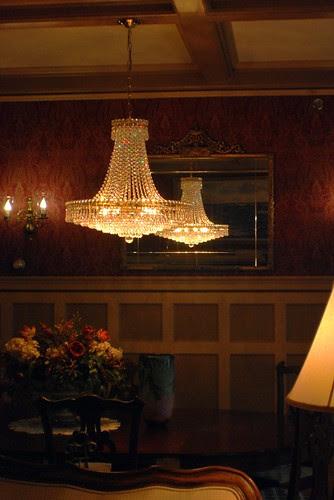 Original Dining Room Chandelier