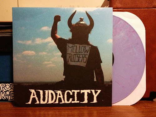 Audacity - Mellow Cruisers LP - Purple Vinyl by Tim PopKid