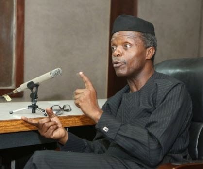 'Whenever I Want To Sack A Corrupt Public Official, Religious Leaders Intervene' – VP, Osinbajo