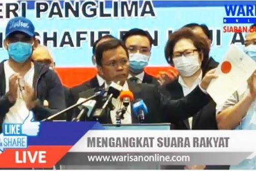 Rampasan kuasa Musa Aman di Sabah gagal