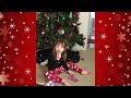Cat Pranks 3 Year Old Girl For Christmas! - Video