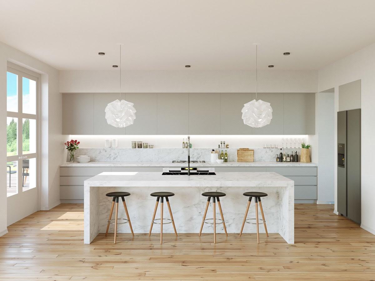Kitchen Lights White
