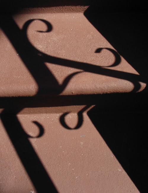 stoop stair shadows