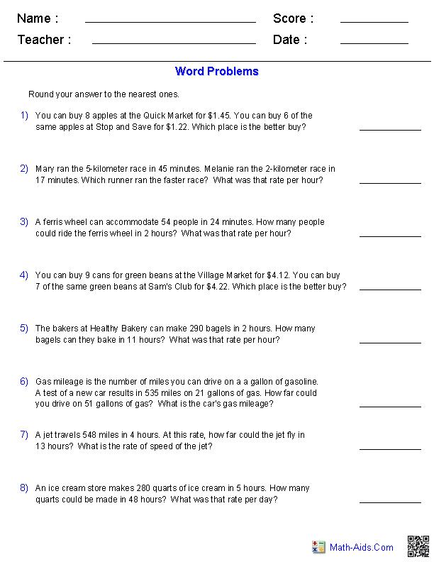 11 Best Images of Math Problem Solving Worksheets - 2nd ...
