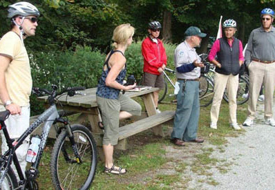 leisurely bike tours