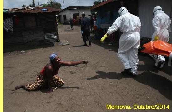 Cena em Monróvia, capital da Libéria.