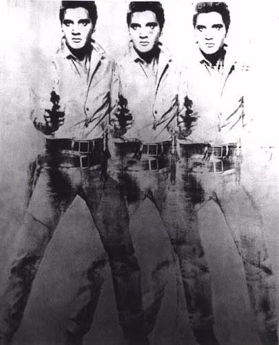 Andy Warhol-Triple Elvis