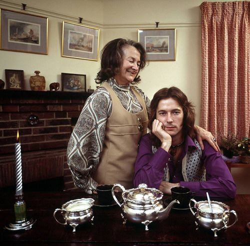 Eric Clapton and his grandmother