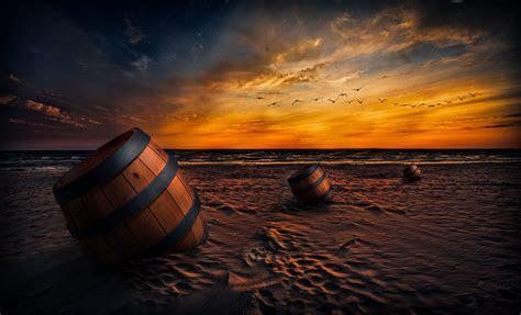 beach sunset wallpapers backgrounds