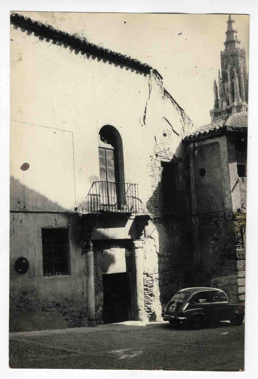 Pasadizo de Balaguer hacia 1970. Colección Luis Alba, Ayuntamiento de Toledo