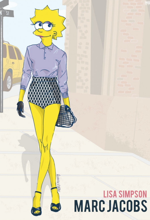 LE FASHION BLOG SWAGGER NEW YORK MICHELE MORICCI 90S CHARACTERS CARTOONS NEW YORK FASHION WEEK LISA SIMPSON MARC JACOBS NEW YORK FASHION WEEK ILLUSTRATIONS BEAVIS BUTTHEAD SAILOR MOON IF DARIA LISA SIMPSON WENT TO NYFW photo LEFASHIONBLOGSWAGGERNEWYORKMICHELEMORICCI90SCHARACTERSCARTOONSNEWYORKFASHIONWEEKLISASIMPSONMARCJACOBS.png