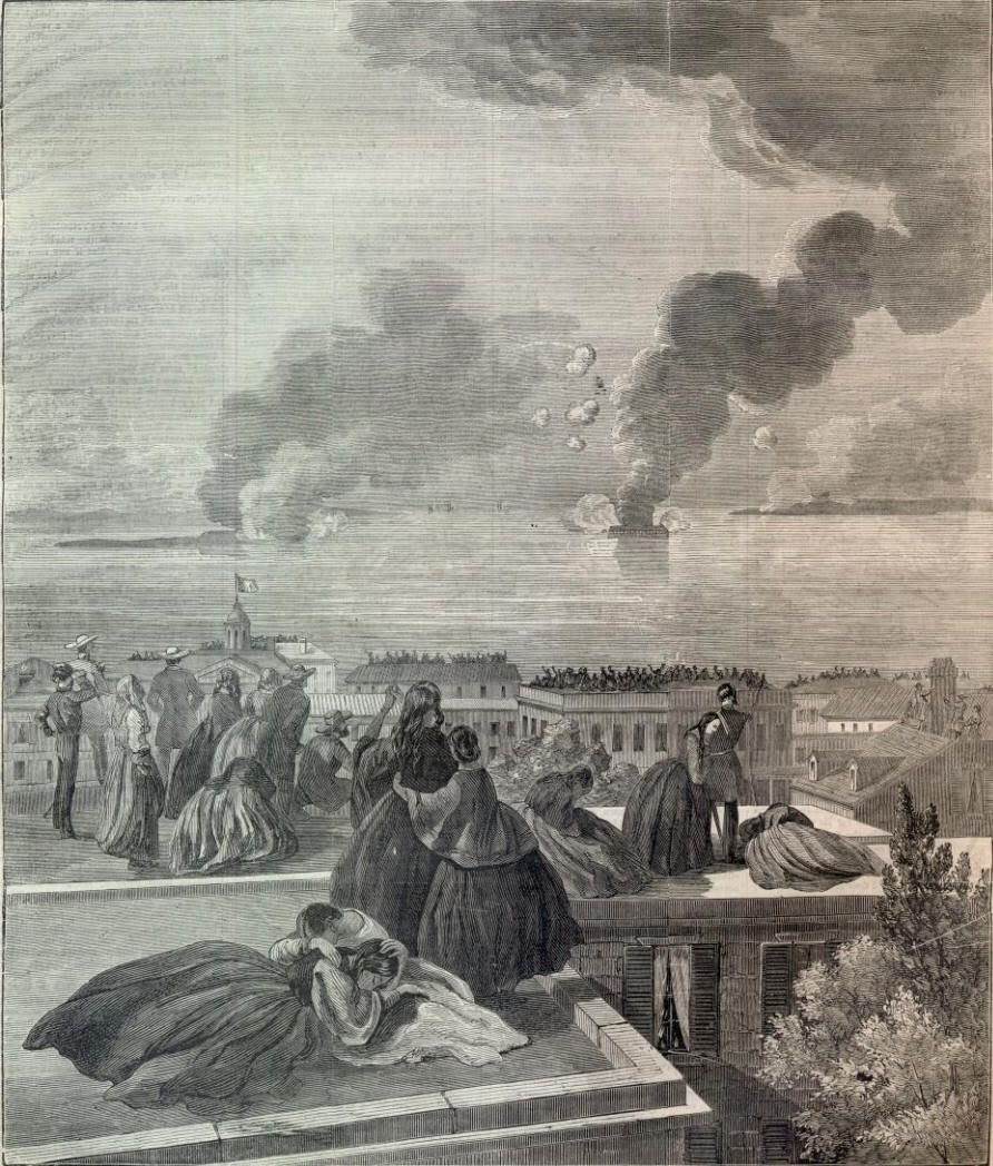 http://cdn2.americancivilwar.com/americancivilwar-cdn/authors/Joseph_Ryan/150-Year-Anniversary/April-1861/Housetops-Charleston-Sumner.jpg