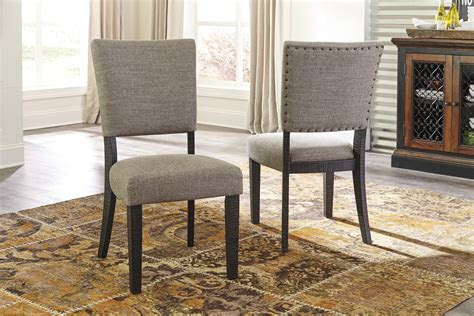 dining uph side chair cn  ashley furniture moore