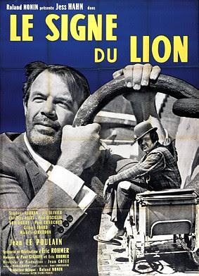 Resultado de imagem para Le Signe du Lion poster