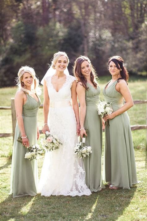 25  best ideas about Sage Bridesmaid Dresses on Pinterest
