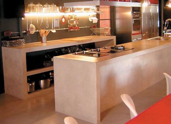 10 estilos de cocina con cemento alisado blog y arquitectura for Estilos de cocinas