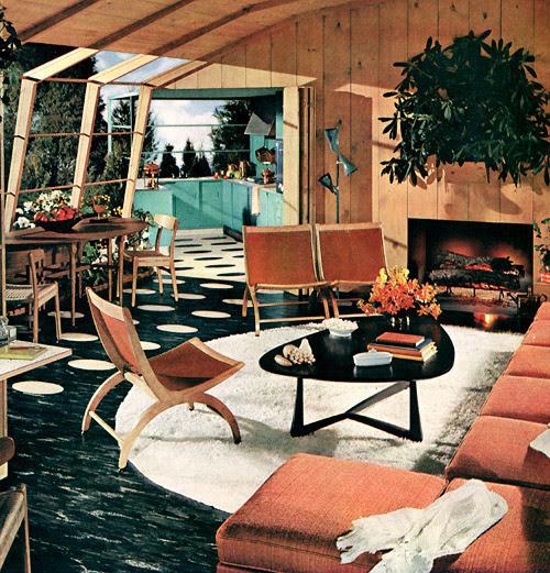 Plan59 :: Retro 1940s 1950s Decor & Furniture :: Armstrong, 1954