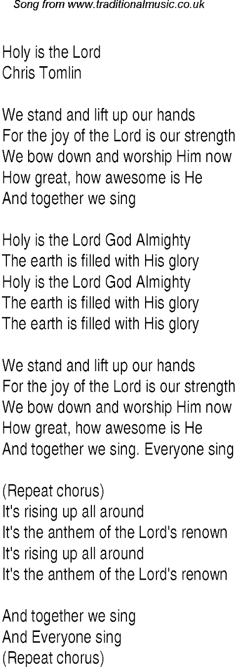 Bow Down And Worship Him Lyrics And Chords