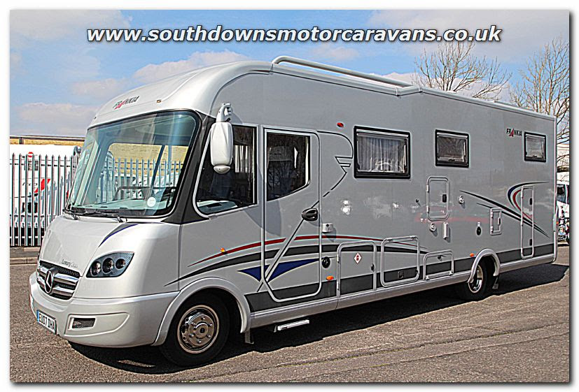 Southdowns   Used Frankia Luxury Class I 8400 GD Mercedes ...