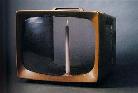 Candle T V By Nam June Paik On Artnet