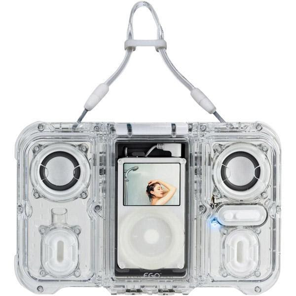 Ego Ice Waterproof Floating Ipod Speakers Iphone 5 Ipad 3