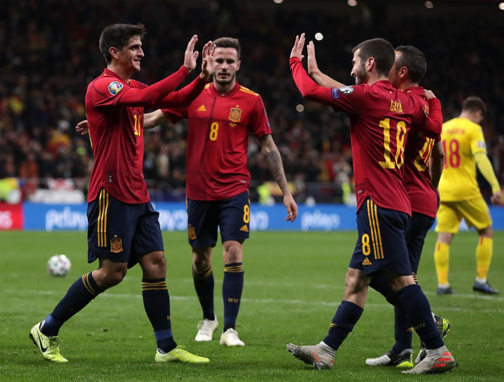 Euro 2020: Spanyol vs Rumania 5-0 | Agen Euro 2020 ...