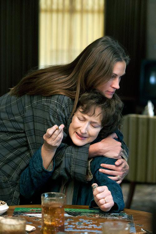 Meryl Streep y Julia Roberts en Agosto